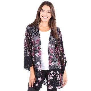 Women's Sheer Rossmore Fringe Jacket