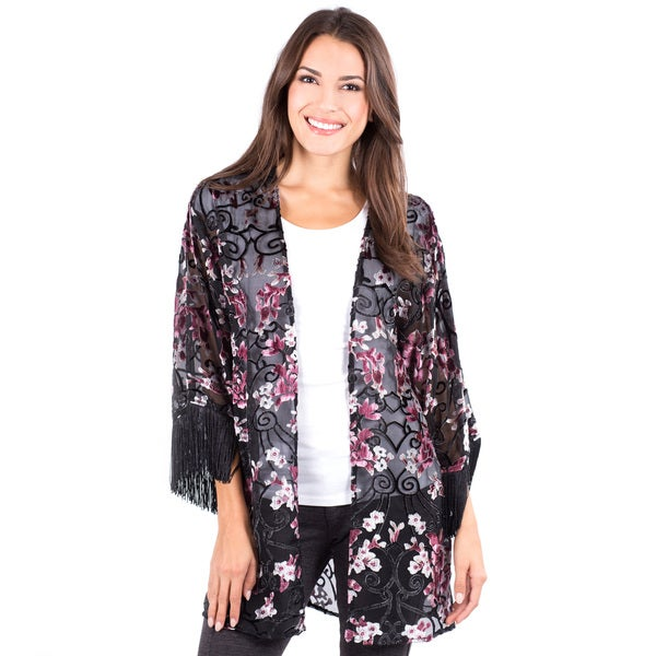 Women's Sheer Rossmore Fringe Jacket
