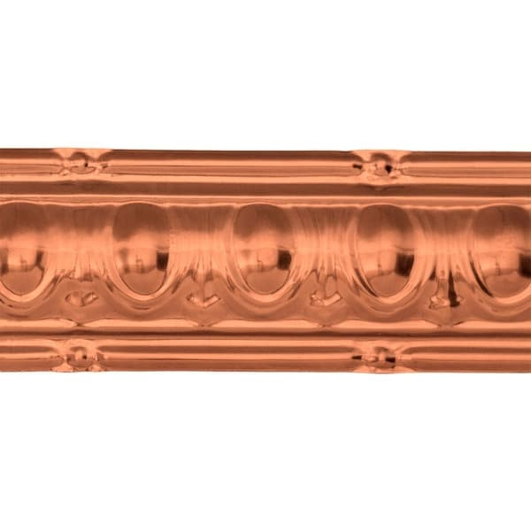 Great Lakes Tin Huron Vintage Bronze 27-inch Crown Molding (Carton of 10)