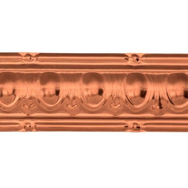 Great Lakes Tin Huron Vintage Bronze 27-inch Crown Molding (Carton of 10)