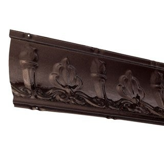 Great Lakes Tin Superior Bronze Burst 48-inch Crown Molding (Carton of 5)