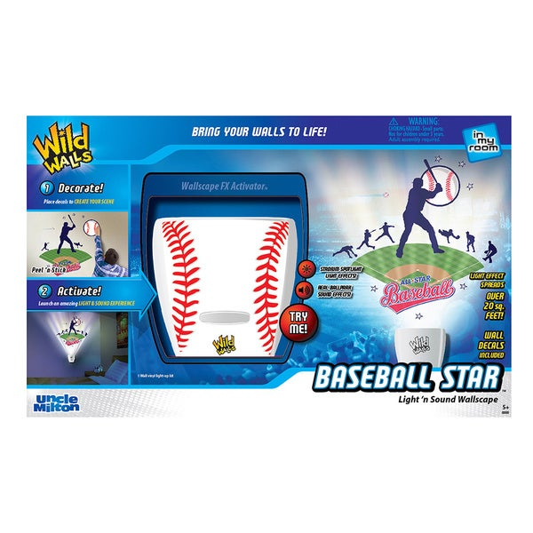 Uncle Milton Wild Walls Baseball Star 16447408
