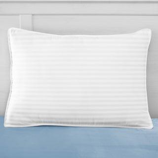 SwissLux 500TC European Style Dual Comfort Memory Foam and Gel-Fiber Pillow
