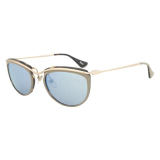 Persol PO3082S 1005/17 Sunglasses in Hazelnut and Matte Havana Frame and Grey Mirror Blue Lens