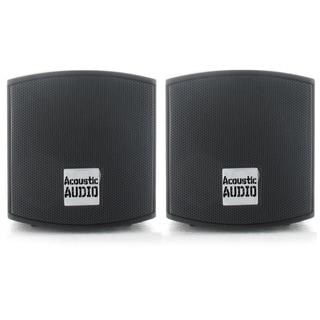 Acoustic Audio AA321B 400-watt Mountable Indoor Bookshelf Speakers