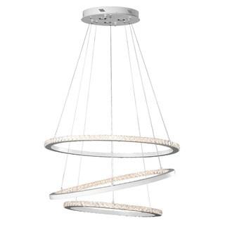 Kichler Lighting Contemporary LED White Chandelier