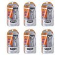 Schick Titanium Razor with SPF 30 Sport Sunscreen (Pack of 6)