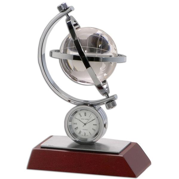 Dacasso Global II Desk Clock