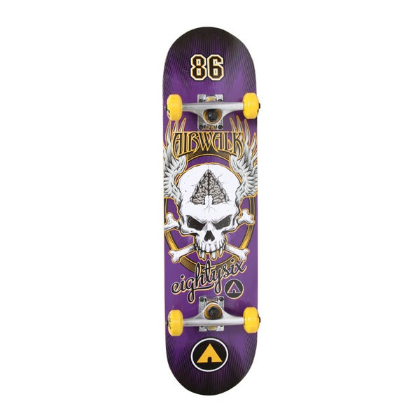 Airwalk Undone Skateboard - Skull