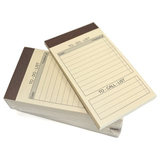 "Royce Leather "" To Do List "" Refill Note Pads for Royce Leather Note Jotters (10-pack)"