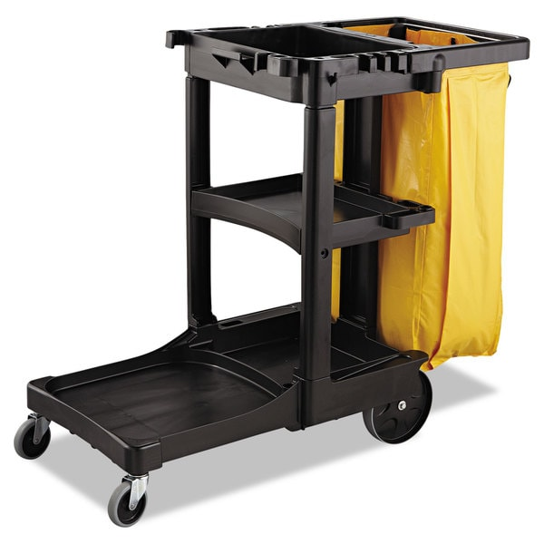 Rubbermaid Commercial Yellow 26gal Vinyl Cleaning Cart Bag
