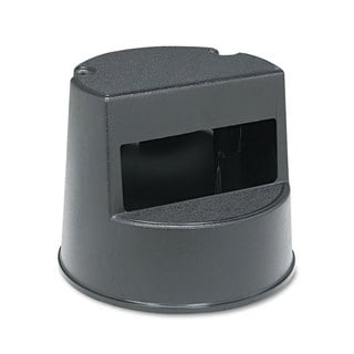 Rubbermaid Commercial Black Rolling Step Stool