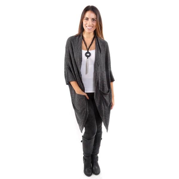 Hadari Women's Oversized Drapey Cardigan