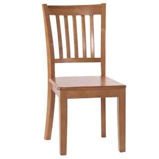 Hillsdale School House Pecan Chair