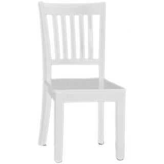 NE Kids School House Collection White Chair