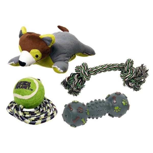 Animal Planet Plush Toy 4-pack