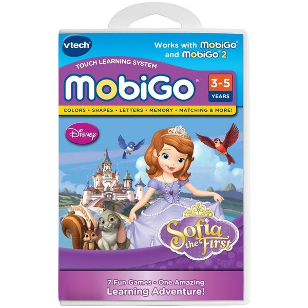 VTech MobiGo Disney Sofia the First Software Cartridge