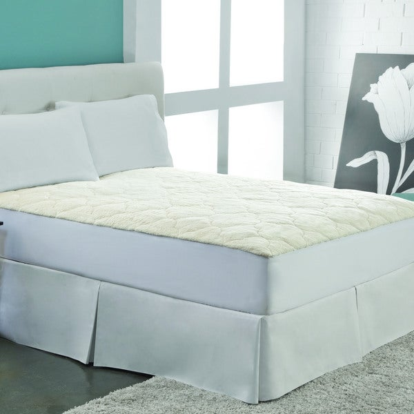 Rest Remedy Cotton Fleece Mattress Pad