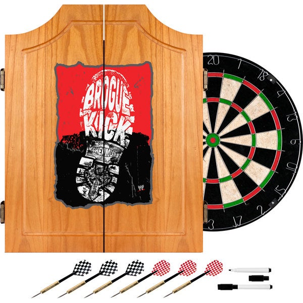 WWE Sheamus Dart Cabinet Set