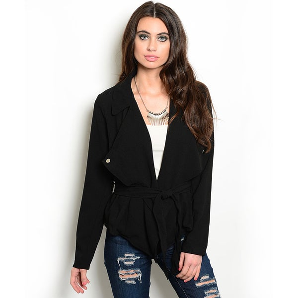 Shop the Trends Women's Long-Sleeve Woven Jacket