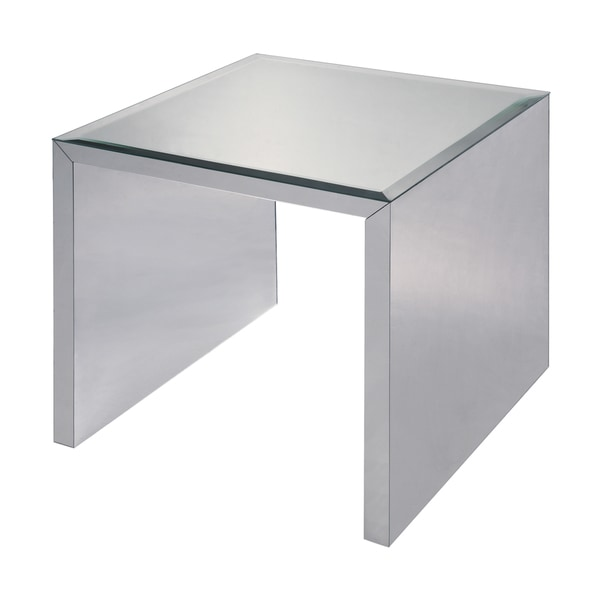 Matinee Silver Glass Table