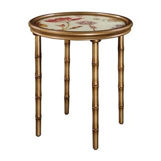 Vivian Gold Accent Table