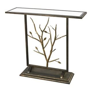Rhyl Branch Mirrored Decorative Table
