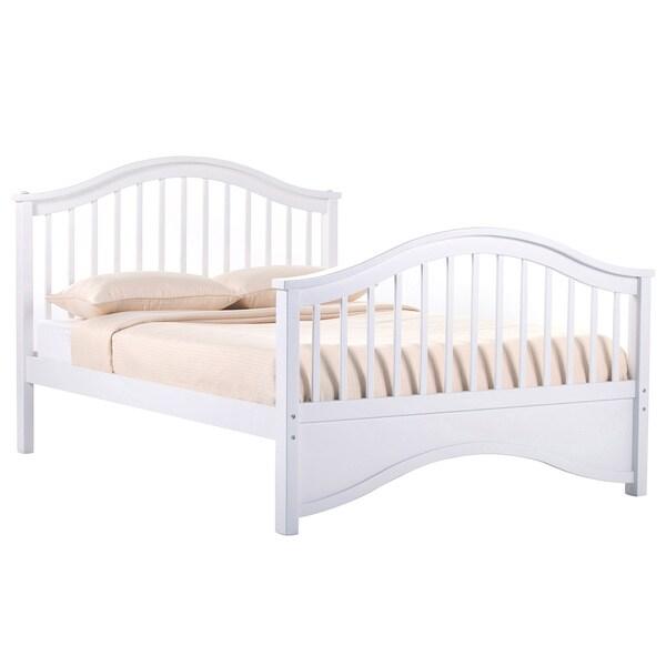 NE Kids School House 'Jordan' White Full Bed