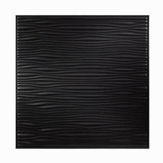Genesis Drifts Black 2 x 2 ft. Lay-in Ceiling Tile (Pack of 12)