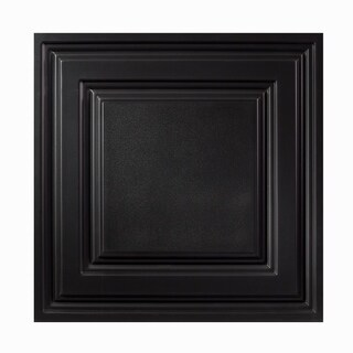 Genesis Icon Coffer White 2 X 2 Ft Lay In Ceiling Tile