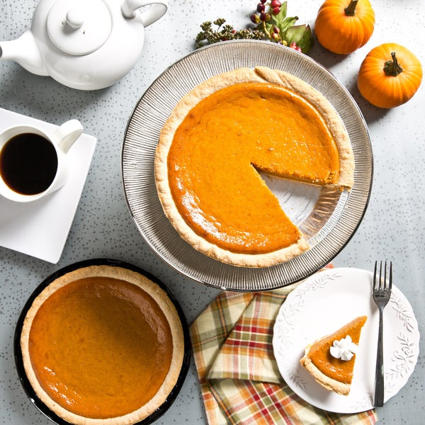 Rocky Mountain 9-inch Deep Dish Pumpkin Pie Bundle (Set of 2)