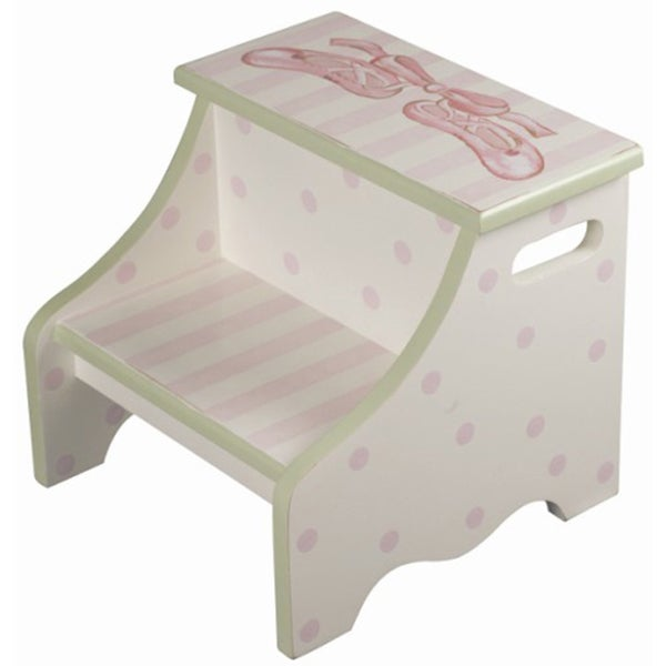 Ballerina Toe Shoes Step Stool