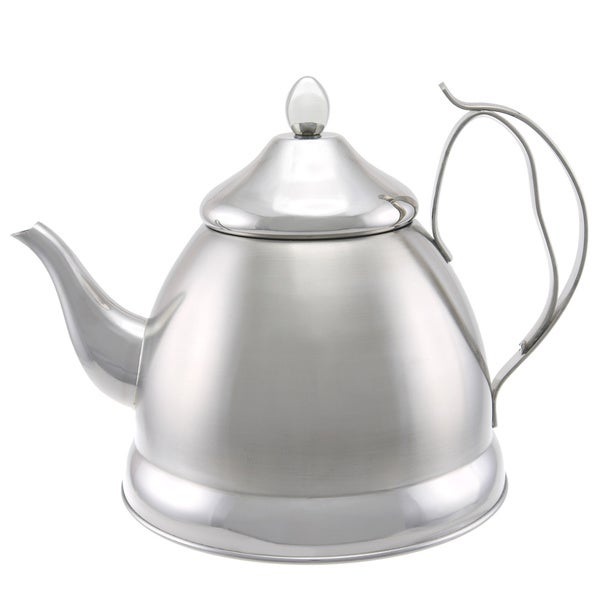 Creative Home Nobili-Tea 2.0-quart Tea Kettle/ Tea Pot with Stainless Steel Infuser Basket