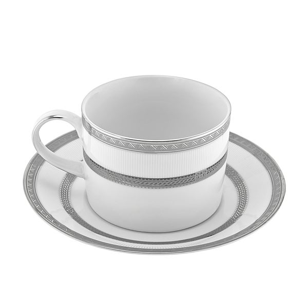 10 Strawberry Street Sophia Can Cup/ Saucer (Set of 6) 16456558