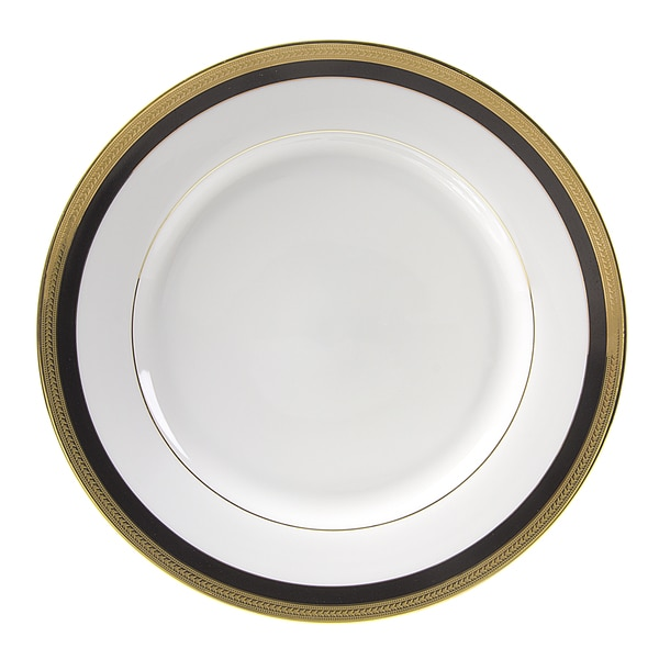 Sahara Black Charger Plate (Set of 6)