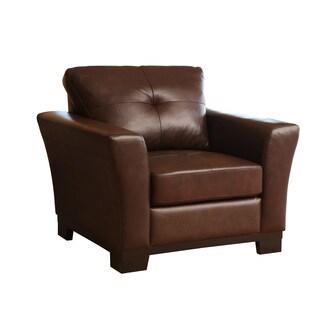 Abbyson Living Firenze Leather Armchair