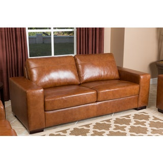 Deals Abbyson Living Pearce Leather Sofa Reviews Rtrtwweq857999