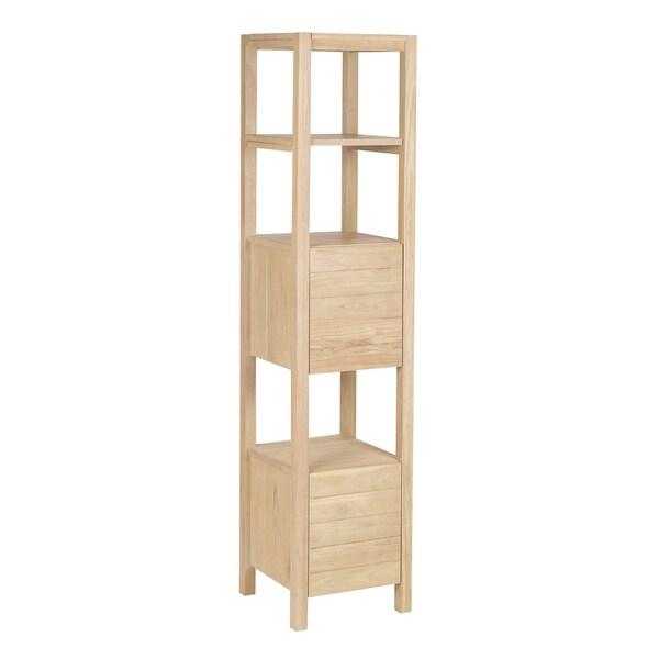 Sterling Elegance Wood Rack Tower