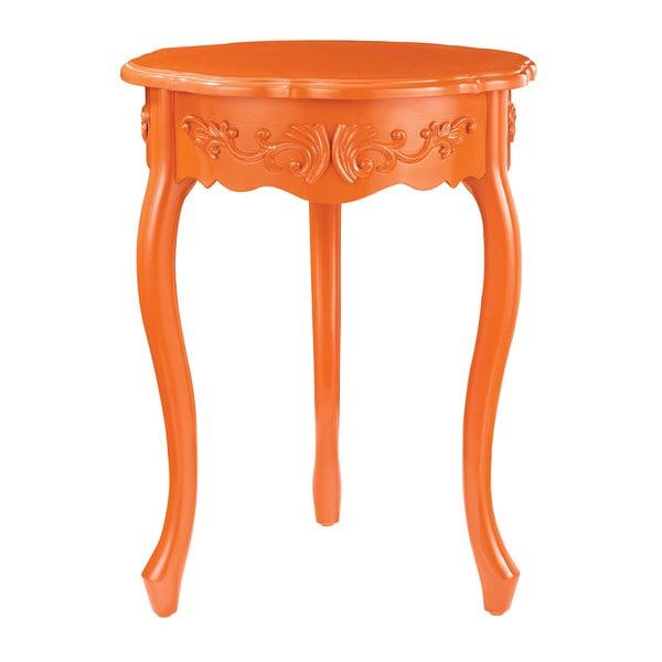 Javit Tangerine Orange Accent Table