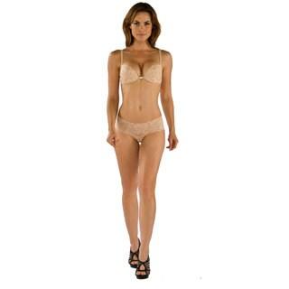 Cosabella Women's 'Never Say Never' Beige Hottie Lowrider Hotpants Panties