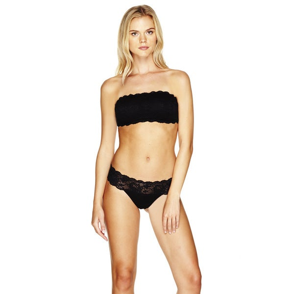 Cosabella Women's 'Never Say Never' Black Maternity Thong