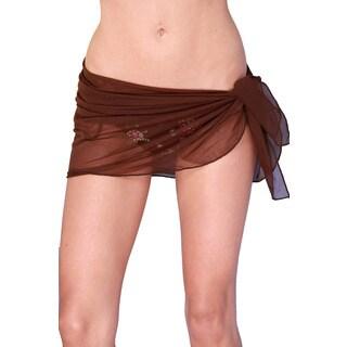 Dippin' Daisy's Brown Short Mesh Sarong