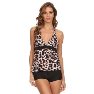Dippin' Daisy's New Leopard Tankini with Boyshorts