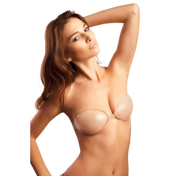 As Seen on TV Women's Self-Adhesive Strapless Silicone Push-Up Reusable Bra