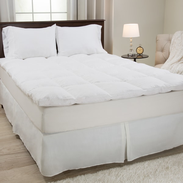 Windsor Home White Cotton 2-Inch Featherbed