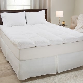Windsor Home White Cotton Down and Featherbed