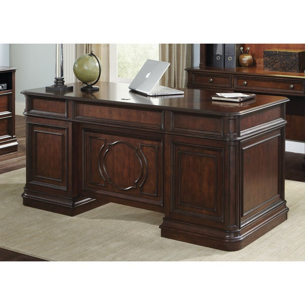 Brayton Manor Cherry Executive Desk