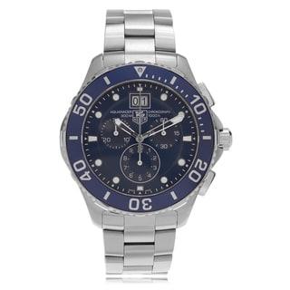 Tag Heuer Men's 'Aquaracer' 300M CAN1011.BA0821 Dual Finish Link Watch