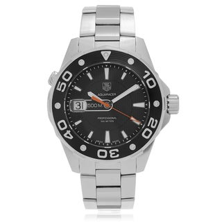 Tag Heuer Men's 'Aquaracer' WAYJ1110.BA0870 500M Brushed Link Watch