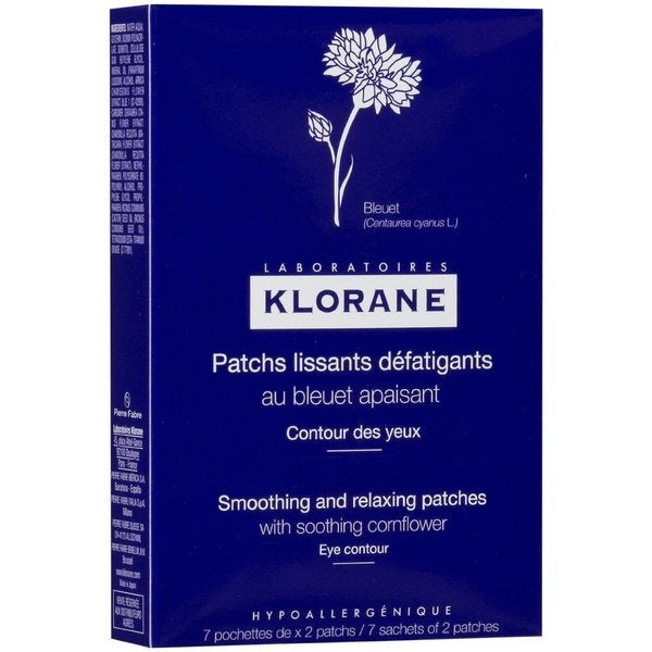 Klorane Smoothing and Relaxing Patches with Cornflower